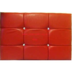 Diamond Faux Leather Headboard Available in all Sizes & Colours
