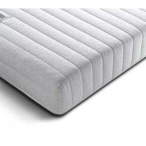 Serenity 2ft 6in Small Single Memory Foam Mattress in White