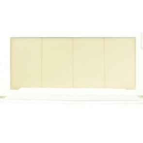 Selina 4ft Small Double Faux Leather Panel Headboard