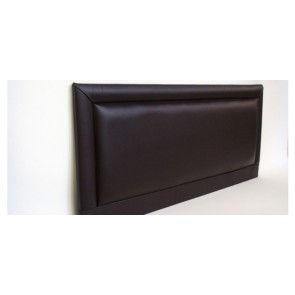 Barcelona 4ft 6in Double Faux Leather Headboard in Various Colours