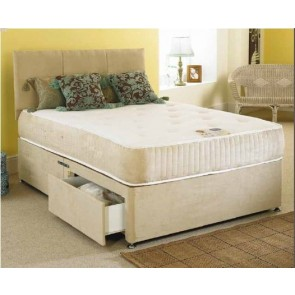 Revive 4ft Small Double Divan Bed &1500 Pocket  Memory Foam Mattress