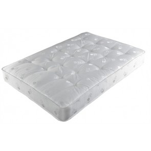 Crystal 5ft KingSize Zip and Link 1000 Pocket Sprung Mattress in White
