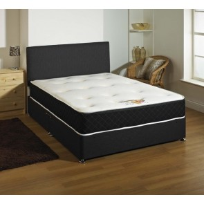 Kensington Black 1500 Pocket Sprung Memory Foam Mattress in all Sizes