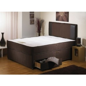 Rosedale Brown 6ft Super Kingsize 1000 Pocket Sprung Memory Foam Mattress