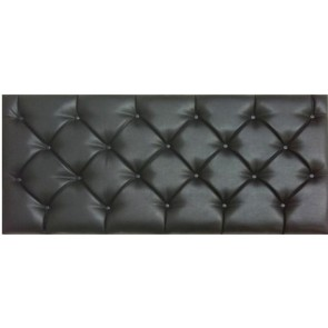 Tuscany 4ft 6in Double Faux Leather Headboard in Various Colours