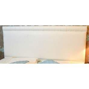 Marriot 4ft 6in Double Faux Leather Headboard in Various Colours