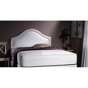 4ft 6in Double Milan Memory Foam 1500 Pocket Sprung Mattress in White