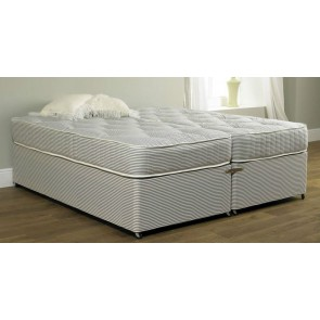Premiere Contract 5ft Zip & Link Bed & 10in Deep Medium Firm Mattress