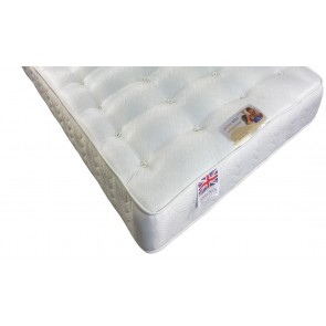 Windsor 5ft King Size Mattress - Medium 25cm Deep Hand Tufted