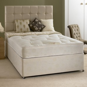 Rio 4ft 6in Double Divan Bed with Orthopaedic Mattress