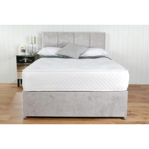 Victoria White 1500 Pocket Spring 5ft King Size Mattress in White