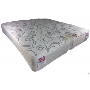 Vitality 1500 Pocket Sprung 5ft King Size Zip & Link Mattress