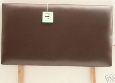 Dorchester 5ft Headboard in Fabric of Faux Leather or Faux Suede
