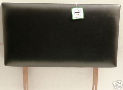Dorchester 4ft Headboard in Colours of Faux Leather & Faux Suede