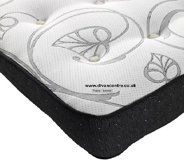 Fusion 1500 Pocket Spring 6ft Super KingSize Zip and Link Mattress
