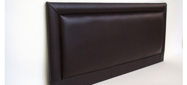 Barcelona 3ft Single Faux Leather Headboard in Various Colours