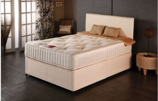 25cm Deep Elite Orthopaedic 5ft King Size Mattress in Cream