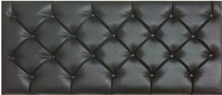 Tuscany 6ft Super King Size Faux Leather Headboard in Various Colours