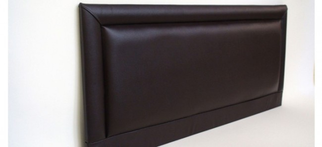 Barcelona 2ft 6in Small Single Faux Leather Headboard