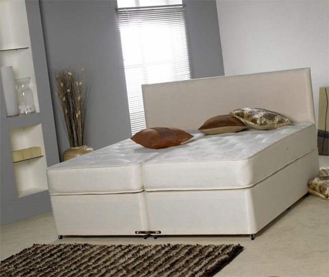 Windsor 5ft King Size Divan Bed Base Only for Zip and Link Mattresses