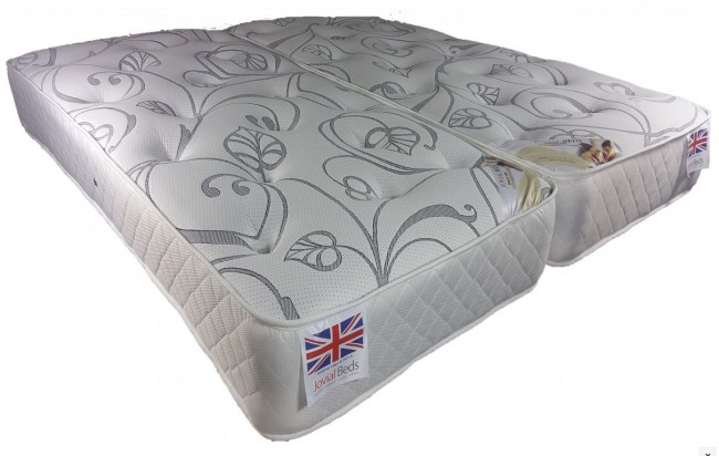Vitality 1500 Pocket Spring 6ft Super KingSize Zip and Link Mattress