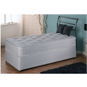 Premiere Contract 3ft Single Divan Bed - Medium Firmness