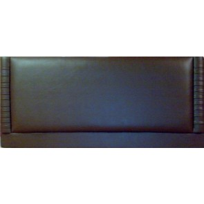 Panama 4ft 6in Double Faux Leather Headboard