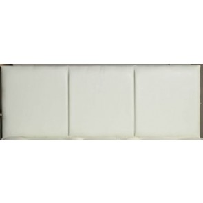 Katie 4ft 6in Double faux Leather Headboard