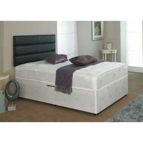 Crystal 1000 Pocket Sprung 5ft King Size Zip and Link Divan Bed
