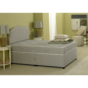 Premiere Contract 4ft 6in Double Divan Bed Inc Mattress & Headboard