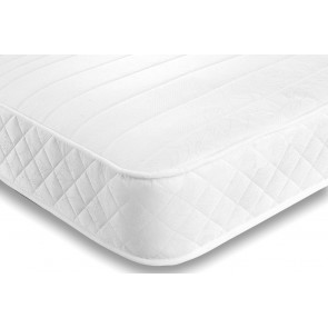 28cm Deep 4ft 6in Double Mayfair White Memory Foam Orthopaedic Mattress
