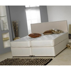 Rio 5ft King Size Zip and Link Bed with Firm Orthopaedic Mattresses
