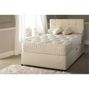 Serene Hotel Contract 1500 Pocket 5ft King Size Zip & Link Divan Bed
