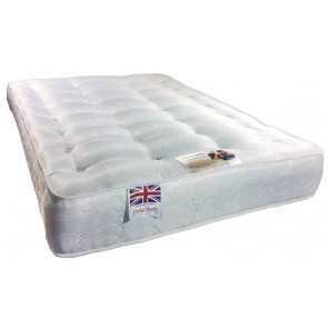 Rio Orthopaedic 4ft Small Double Mattress in White
