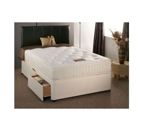 Buckingham 1500 Pocket Sprung 3ft Single Divan Bed