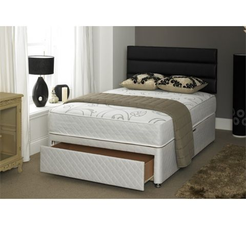 Vitality 1500 Pocket 50mm Memory Mattress 5ft Divan Bed