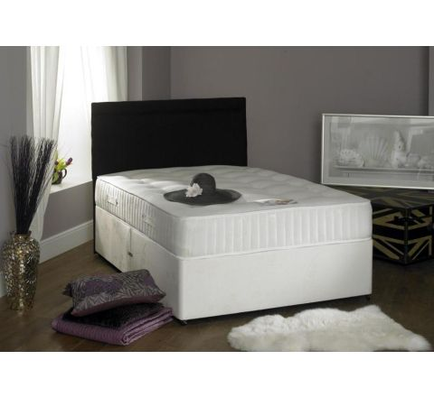 Crystal 1000 Pocket Sprung Mattress 5ft King size Divan Bed