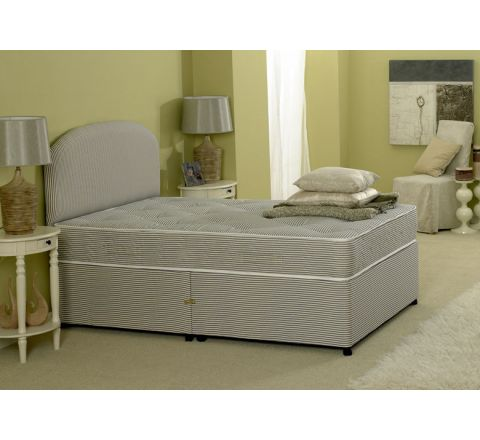 Premiere Contract 4ft Small Double Divan Bed