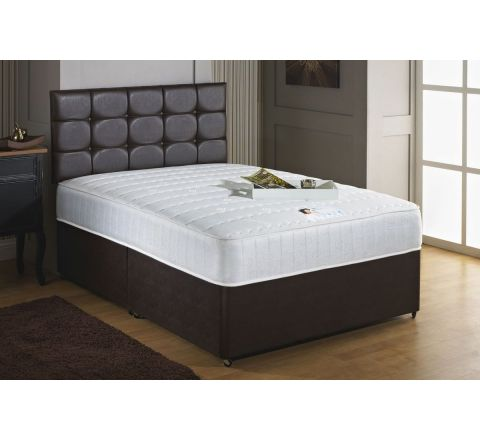 Savoy 6ft Super Kingsize Memory Foam and 1000 Pocket Sprung Divan Bed