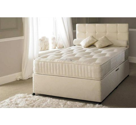 Serene Hotel Contract 1500 Pocket Sprung 4ft 6in Double Divan Bed