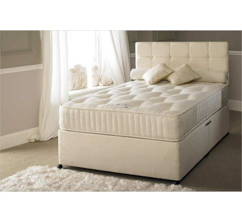 Serene Hotel Contract 1500 Pocket 6ft SuperKing Size Zip & Link Bed