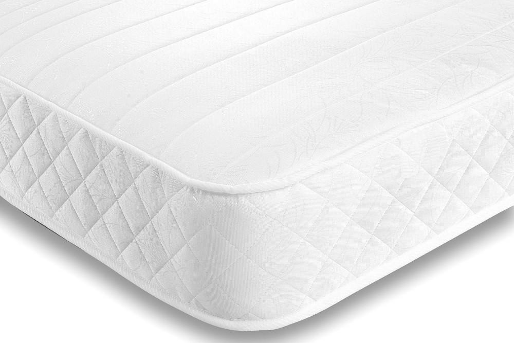 Mayfair White 2ft 6in Small Single Memory Foam Orthopaedic Mattress